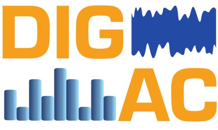 logotyp projektu DIGAC